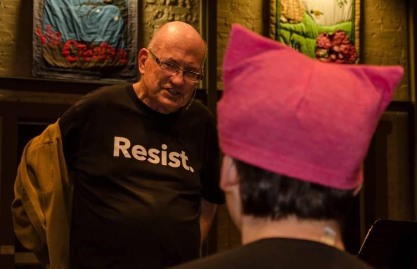 unveiling my Resist shirt